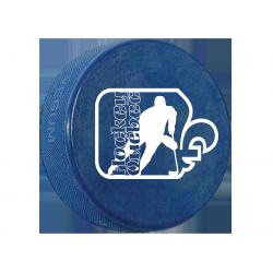 Rondelle 4 onces Hockey Québec Bleu