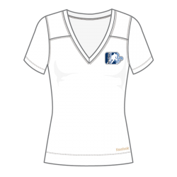 T-Shirt Reebok Technique Blanc Femme