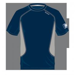 T-Shirt Reebok Technique Marine/Gris